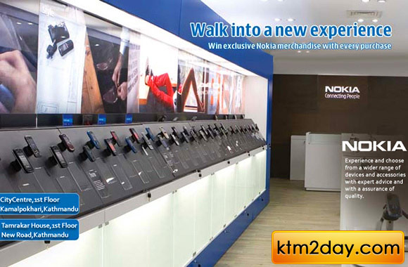 Nokia opens up two new stores in Kathmandu