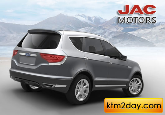 JAC Motors launches its vehicles in Nepal
