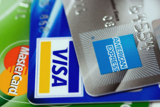 Credit cards usage on the rise