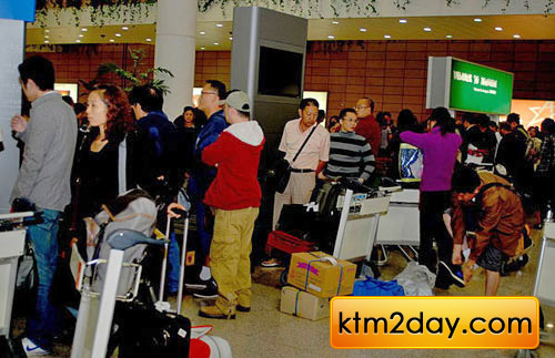 Increase in Chinese tourists arrivals