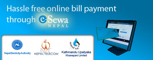 Pay your bills online with eSewa