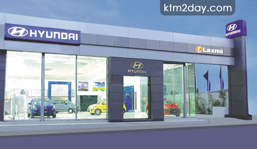 Hyundai Showroom opens in Thapathali