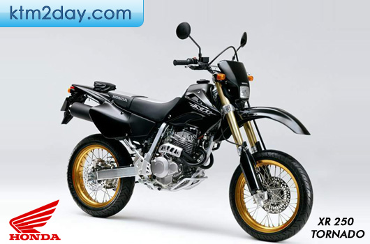 Honda XR-250 Tornado open for booking