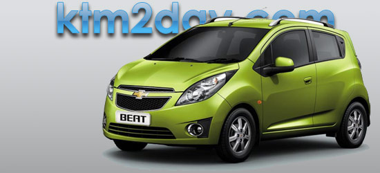 Chevrolet Beat launched in Nepali market