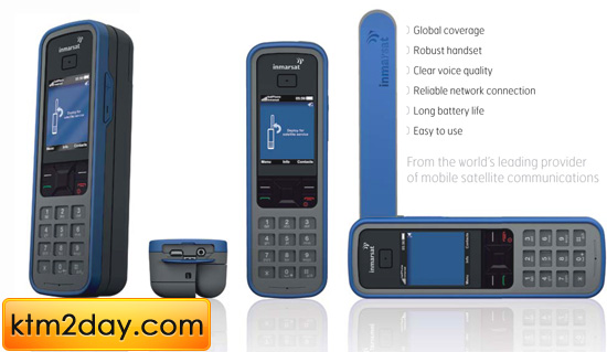 Inmarsat Satellite Phone launched in Nepal
