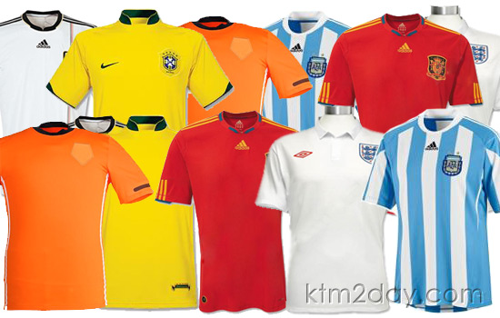 World Cup football jerseys flying off the shelves