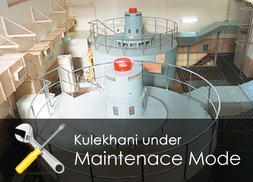 Kulekhani Hydropower under maintenance mode