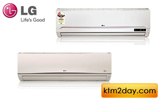 LG launches energy efficient air conditioners in Nepal