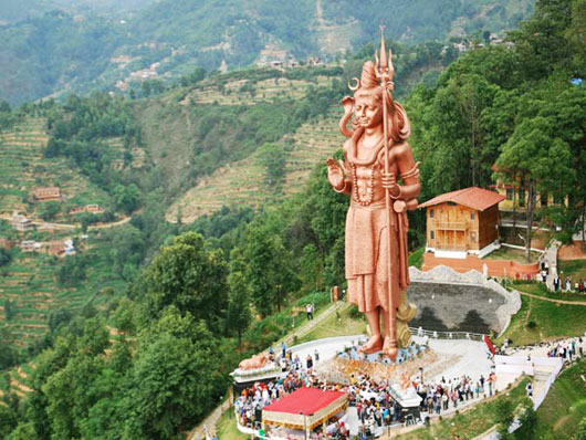 Lord Shiva's massive statue unveiled in Bhaktapur