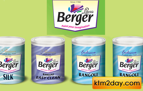 Berger launches Rangoli interior emulsion paint