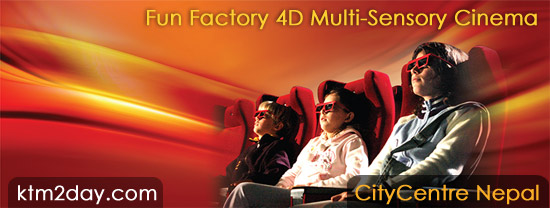 Fun Factory 4D Multi-Sensory Cinema opens in CityCentre Nepal