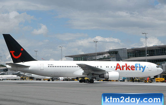 Dutch airline ArkeFly to begin flights to KTM