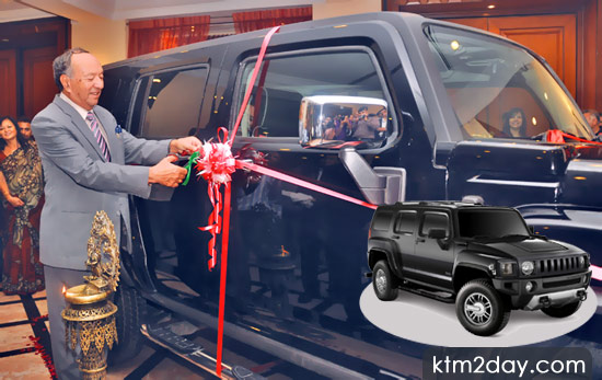Hummer now available in Nepal