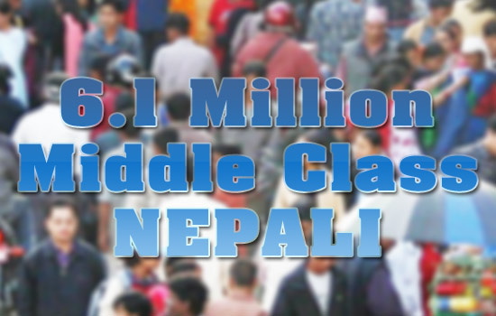 ADB reports 6.1 million middle class people in Nepal