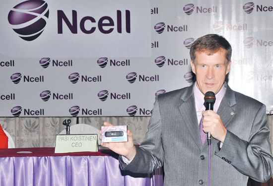 Ncell launches 3.6 Mbps high speed internet in Nepal