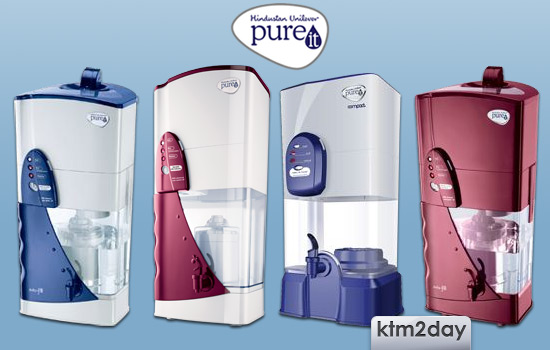 Pureit water filters launched in Nepali market
