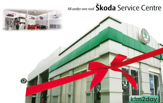 Skoda opens world class service center