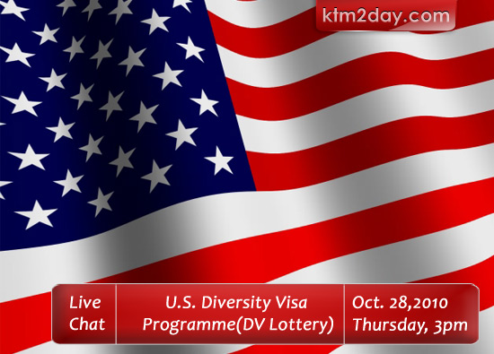 Live web chat on U.S. Diversity Visa Lottery