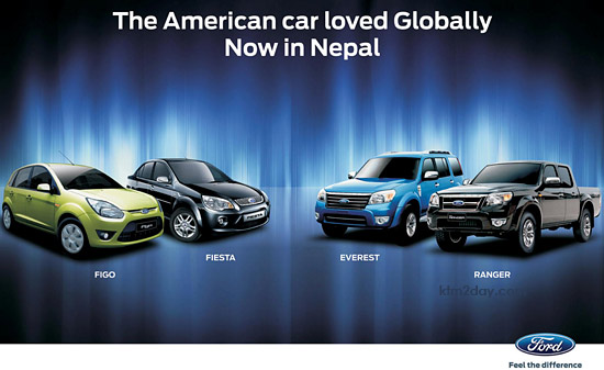 Ford cars' dealership comes to Nepal