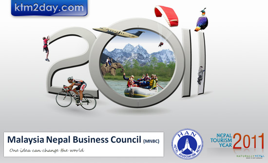 HAN promotes Nepal Tourism Year 2011 in Malaysia