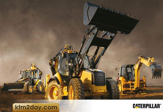 Heavy equipments from Caterpillar launched in Nepal