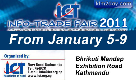 ICT Info-Trade 2011 to begin from January 5