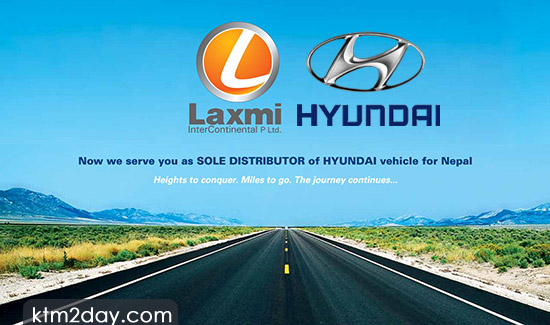 Laxmi Intercontinental appointed sole distributor of Hyundai in Nepal