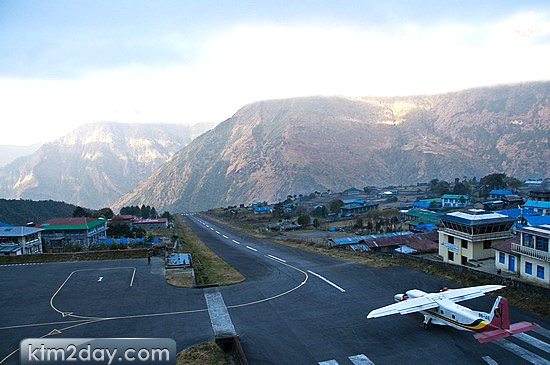 Lukla Airport ranked 8th among the world's top 10 stunning airports
