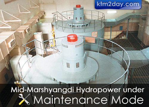 Mid-Marshyangdi hydropower to be shut for maintenance