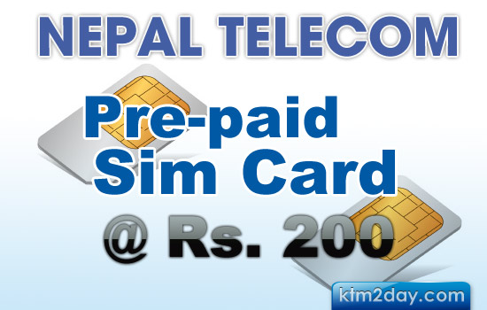 Nepal Telecom to provide prepaid SIM at Rs. 200