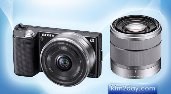 Sony launches NEX-5 and NEX-3 Alpha DSLR Cameras in Nepal