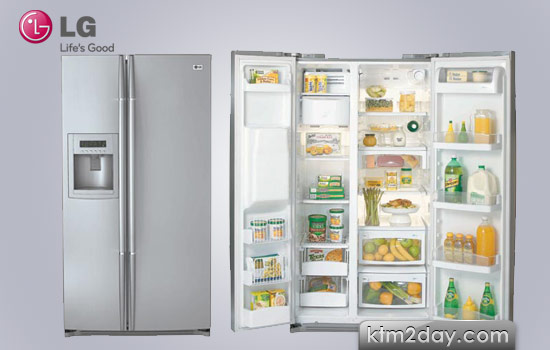 LG launches side-by-side refrigerator in Nepali market