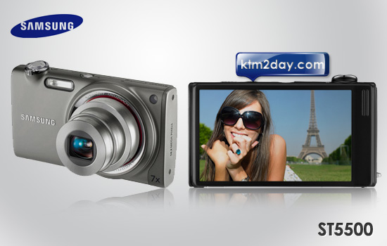 Samsung ST5500 14.5 Megapixel digital camera Price in Nepal
