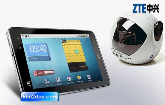 ZTE to launch Tablet PC and surveillance equipments in Nepali market