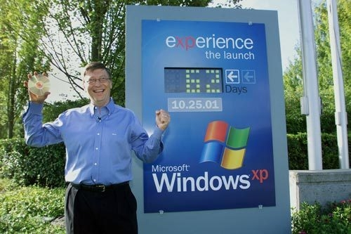 Microsoft Windows XP celebrates its 10th anniversary today