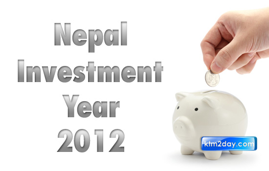 Year 2012 proposed as 'Nepal Investment Year'