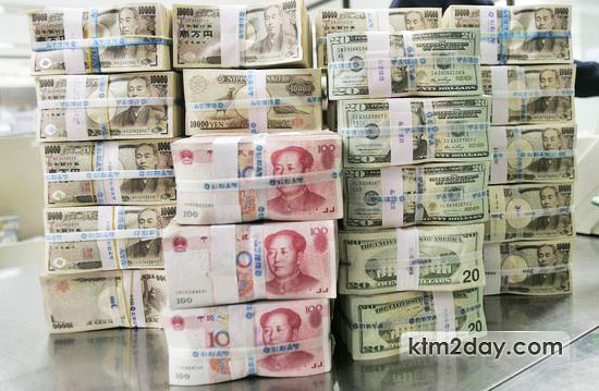 Foreign exchange reserve swells to record high