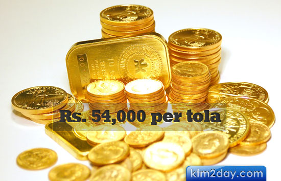 Nepalese gold market sees no affect from world price