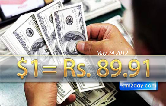 Rupee hits record low against dollar