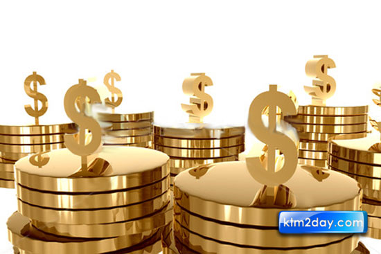 Gold unstable due to fluctuation of dollar