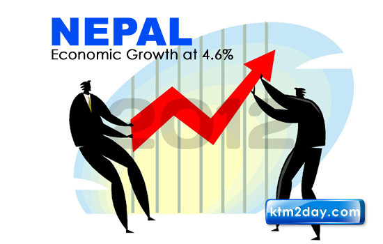 Nepal will grow 4.6% in 2012