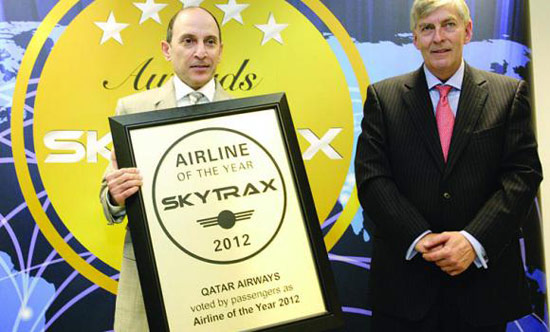 Qatar Airways named Best Airline for second consecutive year