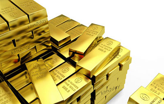 Gold price sets new record of Rs. 59,900 per tola