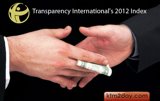 Nepal ranks 139th in global corruption index