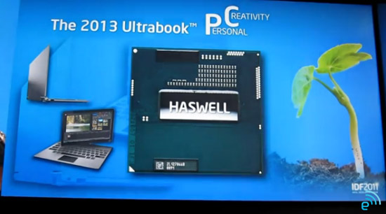 Intel's Haswell Chips to Bring Battery Life, GPU Improvements