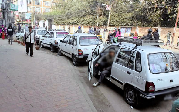 Action taken against two dozen taxi drivers