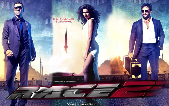 Race 2 to be released in more than 50 countries