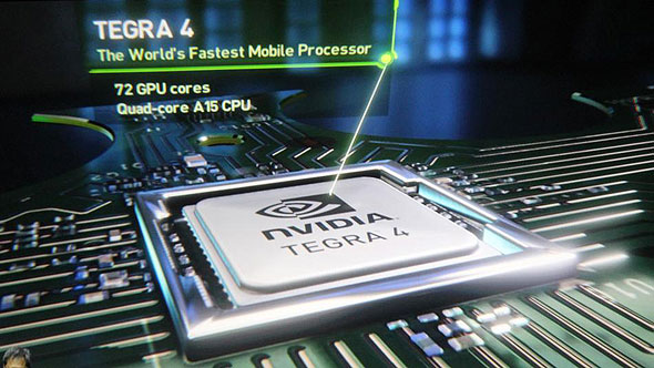 Nvidia unveils new Tegra chip, ups mobile game
