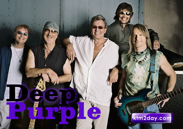 Deep Purple to perform live in Kathmandu on March 15
