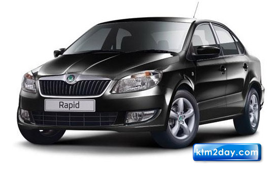 Skoda unveils diesel version of premium sedan Rapid